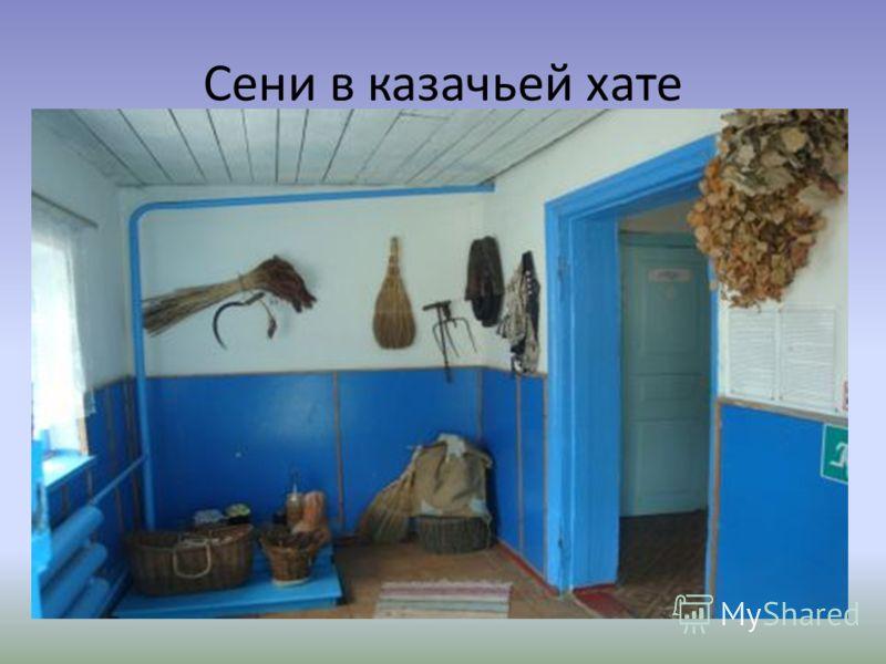 Сени в казачьей хате