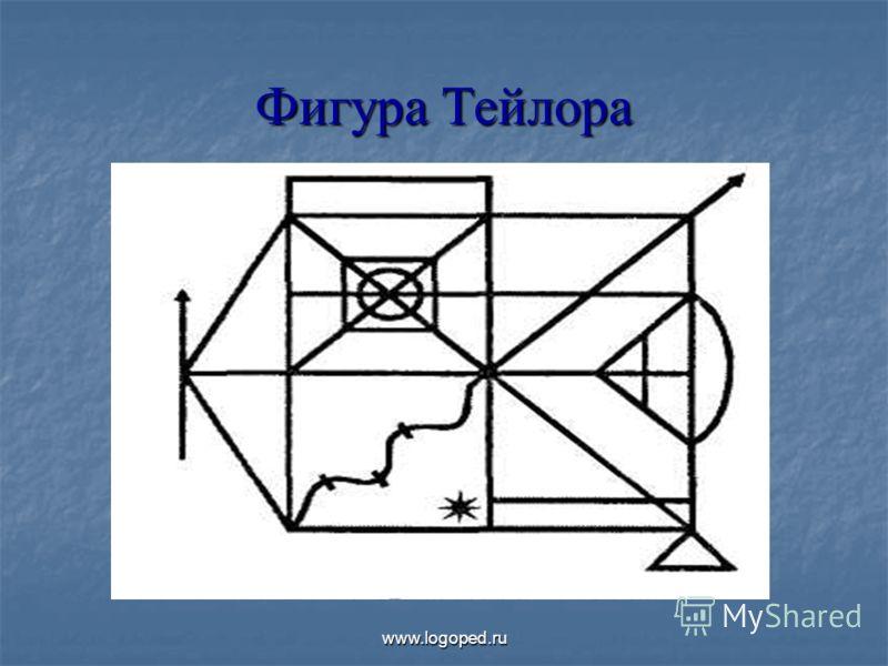 Фигура Тейлора www.logoped.ru