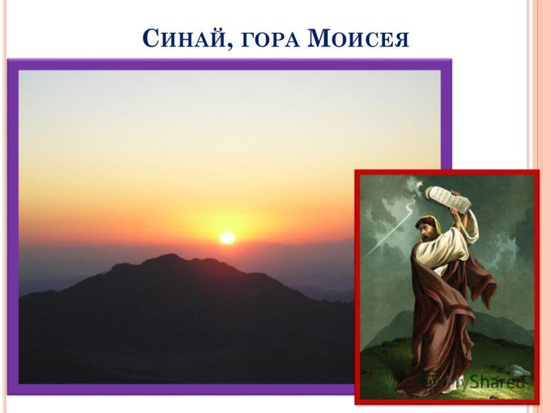 С ИНАЙ, ГОРА М ОИСЕЯ