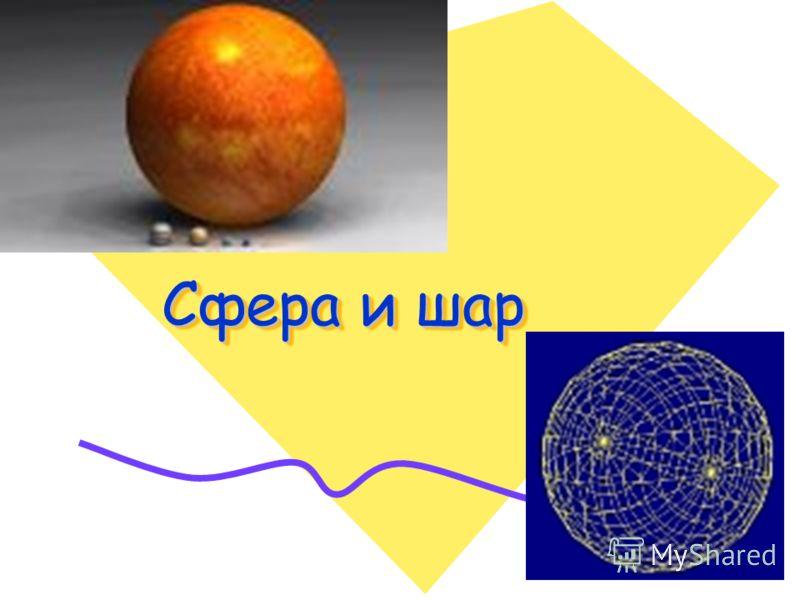 Презентацию тему геометрии шар