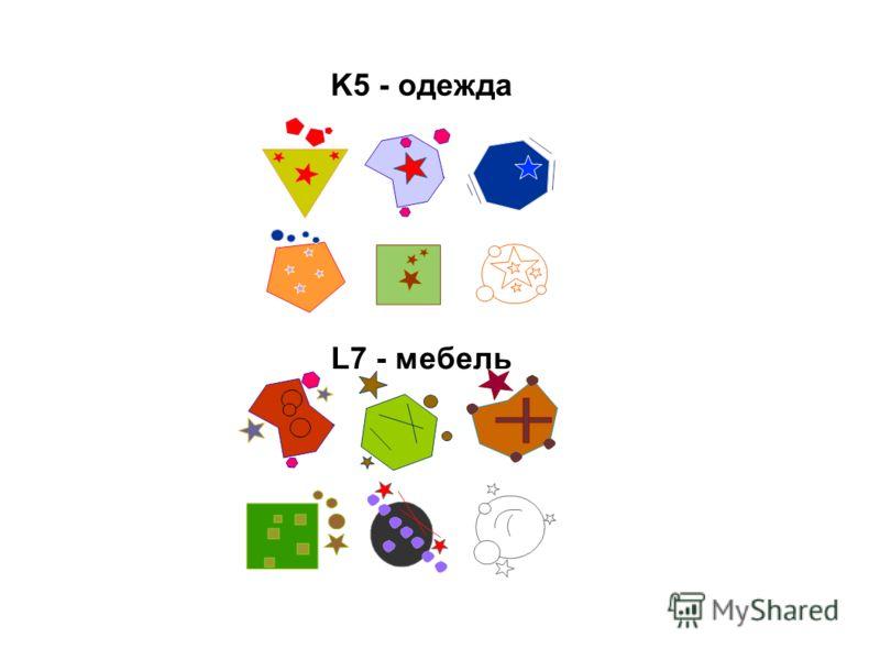 L7 - мебель K5 - одежда