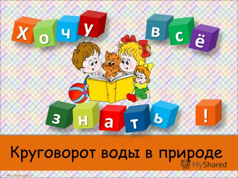 Круговорот воды в природе ХХ http://aida.ucoz.ru