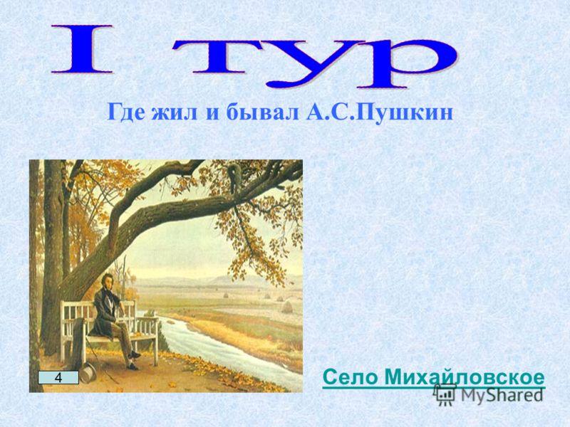 4 Село Михайловское