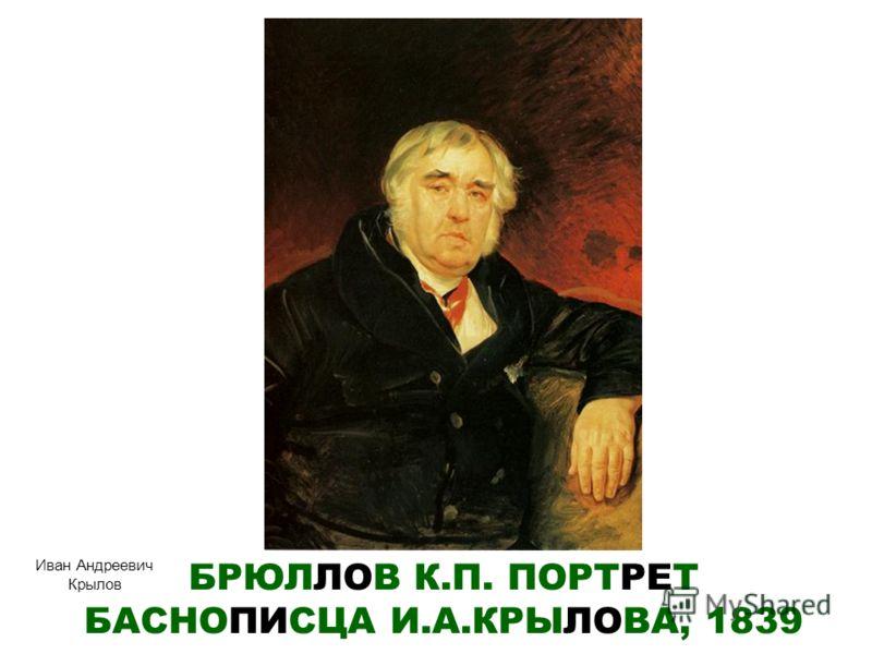 Моллер ф а портрет писателя н в гоголя