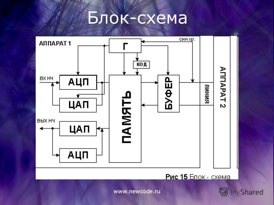 www.newcode.ru Блок-схема