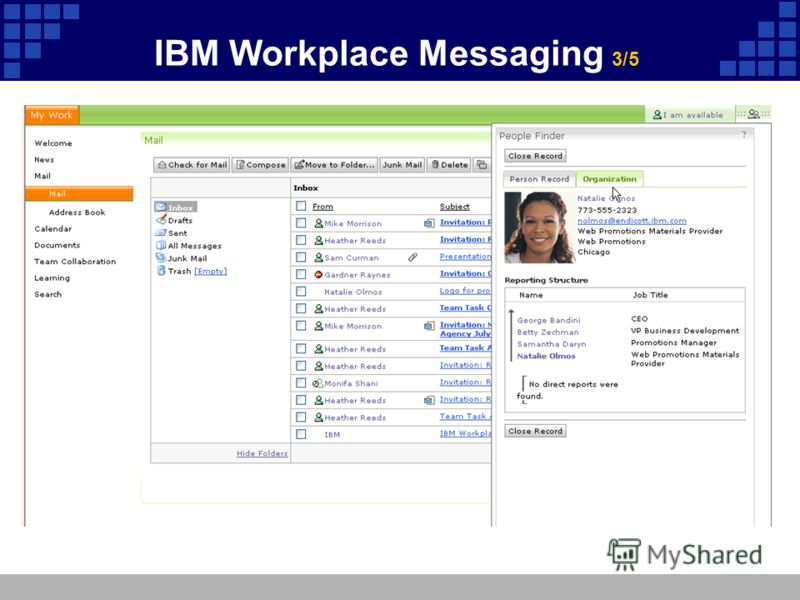 IBM Workplace Messaging 3/5