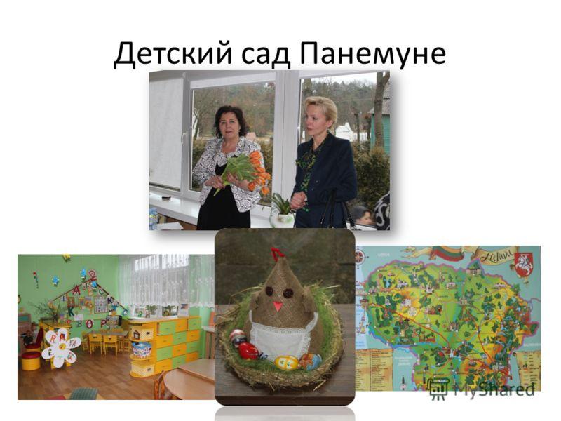 Детский сад Панемуне