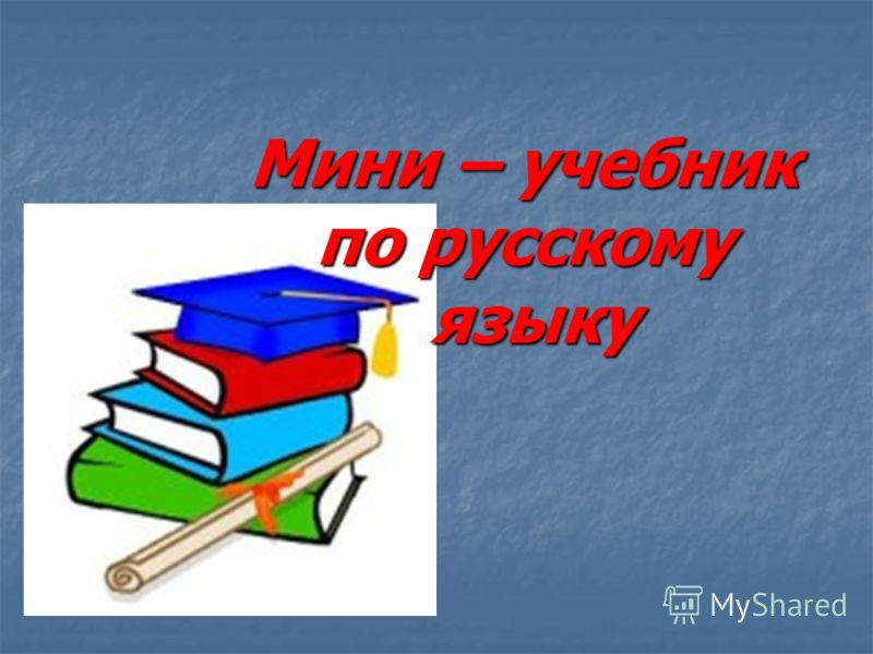 Мини – учебник по русскому языку