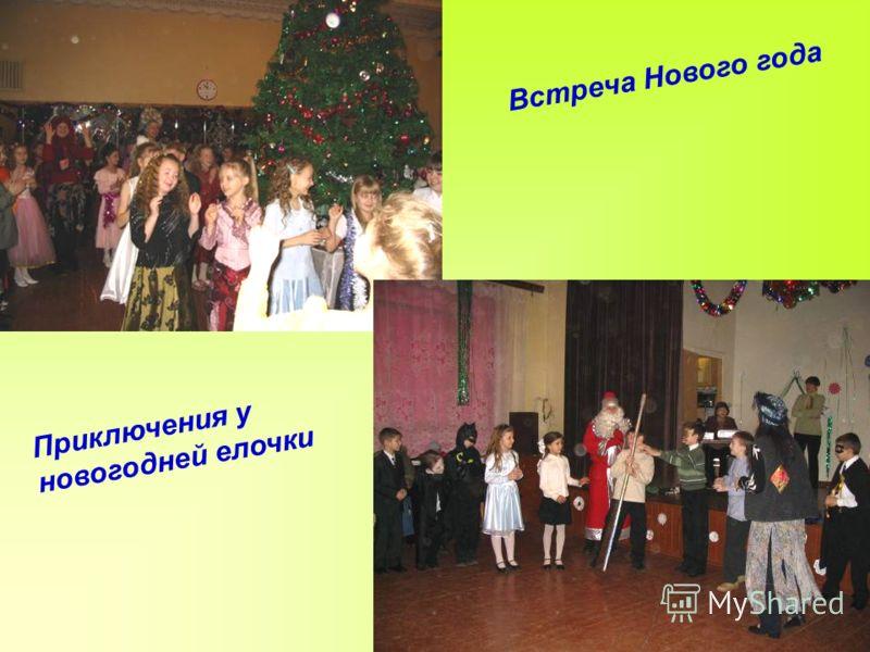 Встреча Нового года Приключения у новогодней елочки