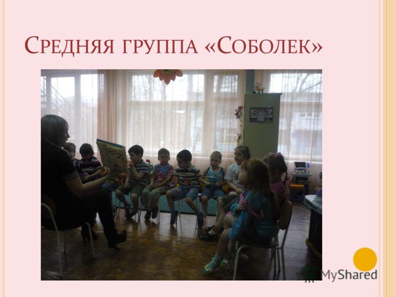 С РЕДНЯЯ ГРУППА «С ОБОЛЕК »