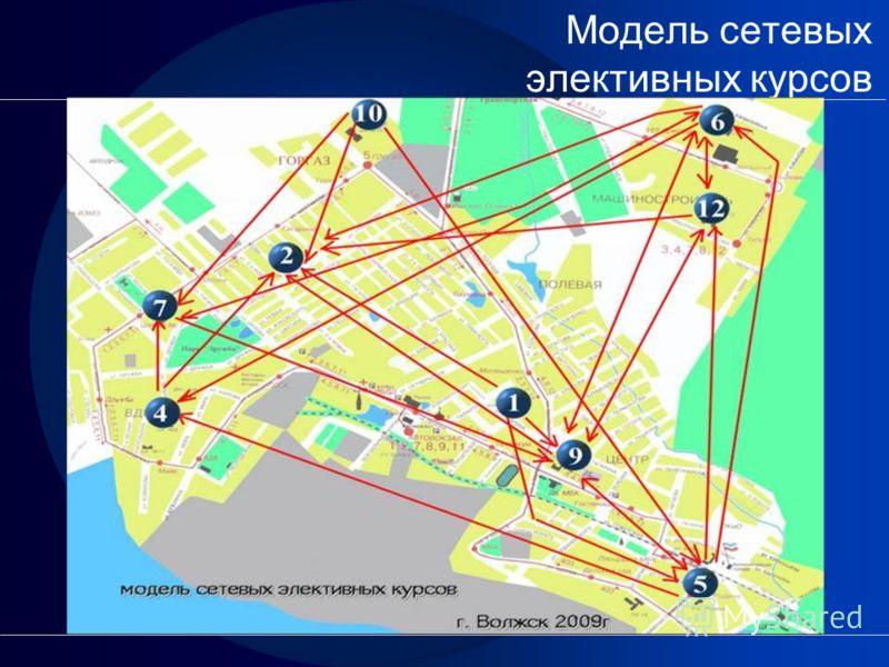 Модель сетевых элективных курсов
