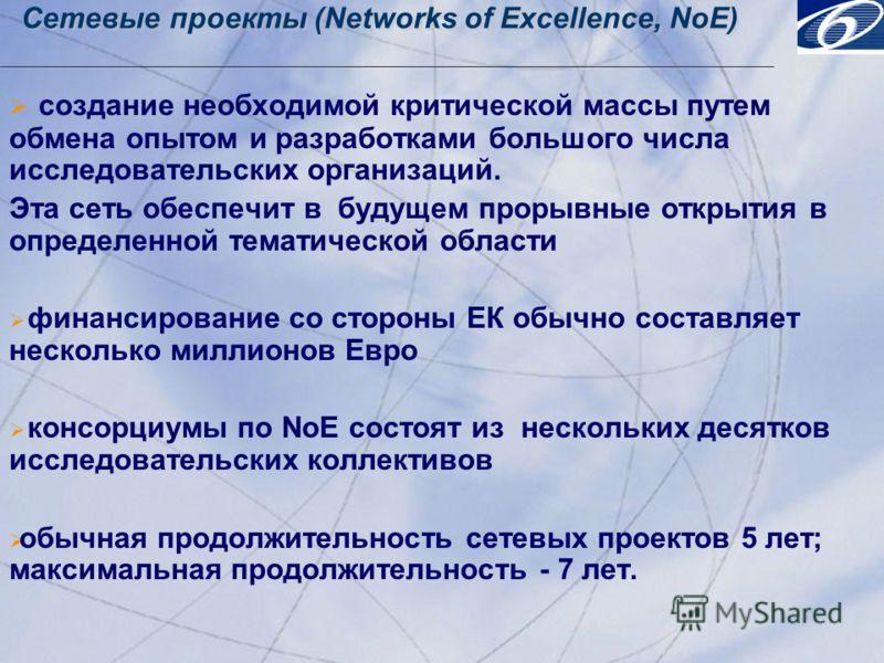 © 2001, Progress Software Corporation Exchange 2001, Washington, DC, USA 15 © 2001, Progress Software Corporation Exchange 2001, Washington, DC, USA 15 Сетевые проекты (Networks of Excellence, NoE) создание необходимой критической массы путем обмена