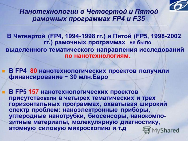 © 2001, Progress Software Corporation Exchange 2001, Washington, DC, USA 4 © 2001, Progress Software Corporation Exchange 2001, Washington, DC, USA 4 В Четвертой (FP4, 1994-1998 гг.) и Пятой (FP5, 1998-2002 гг.) рамочных программах не было выделенног