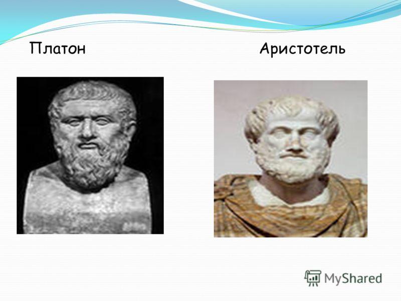 Платон Аристотель