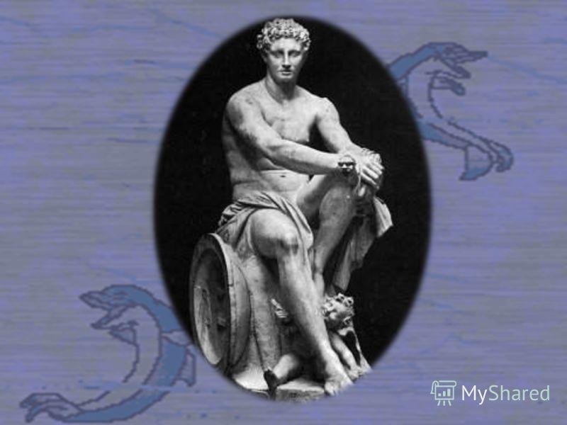 Сжалились над ним морские богини, дочери Океана, взяли его на воспитание. Там, на глубине моря, в лазурном гроте вырос Гефест.