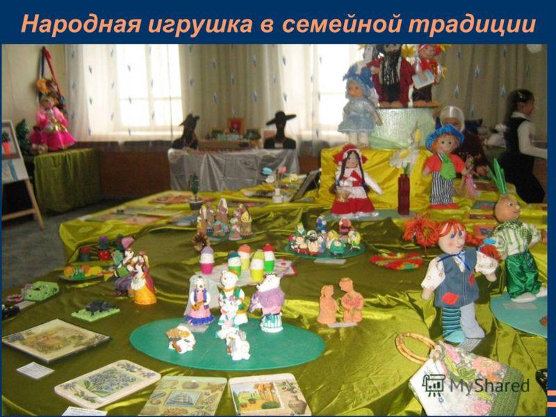 Народная игрушка в семейной традиции