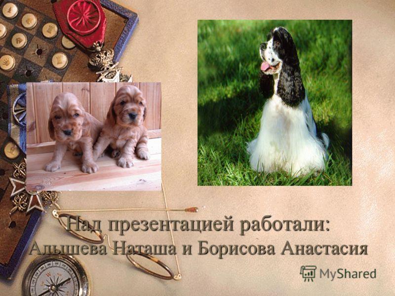 Над презентацией работали: Алышева Наташа и Борисова Анастасия