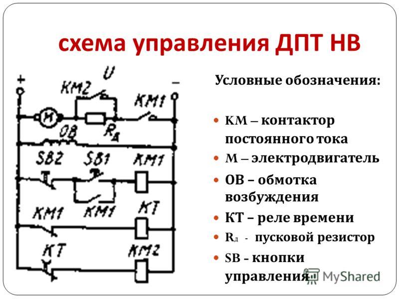 контактор постоянного тока