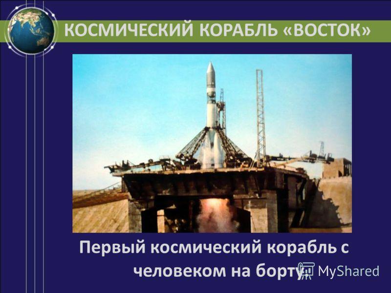 КОСМИЧЕСКИЙ КОРАБЛЬ «ВОСТОК» Первый космический корабль с человеком на борту.