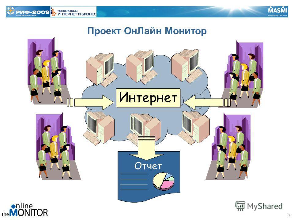 3 Проект Он Лайн Монитор Интернет Отчет