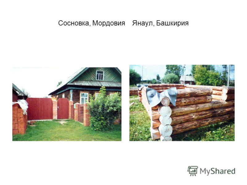 Сосновка, МордовияЯнаул, Башкирия