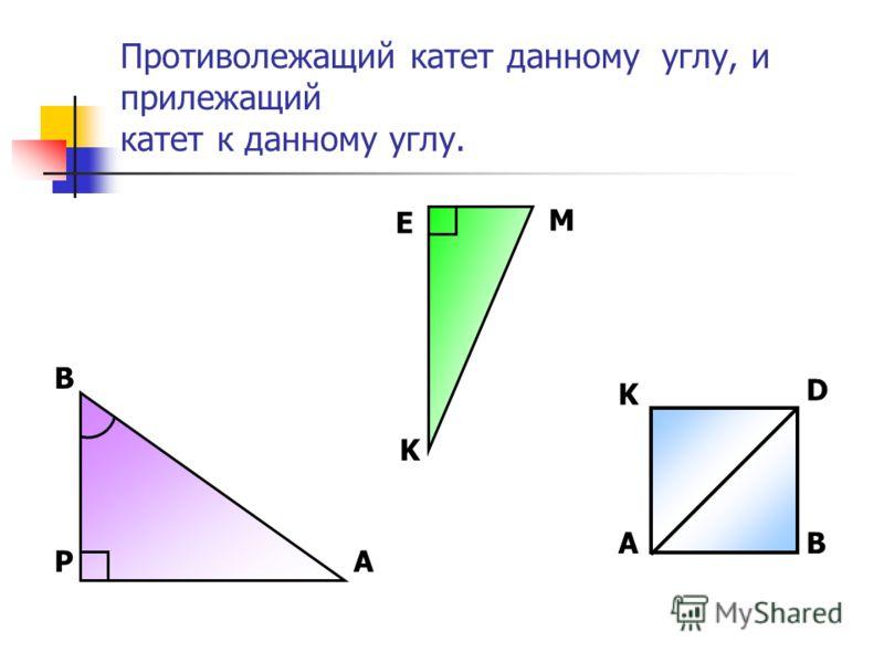 Знать: Определение синуса, косинуса тангенса острых углов прямоугольного треугольника. Уметь: Находить данные функции для треугольника Решать задачи на нахождение углов, сторон прямоугольного треугольника Применять На уроках физики