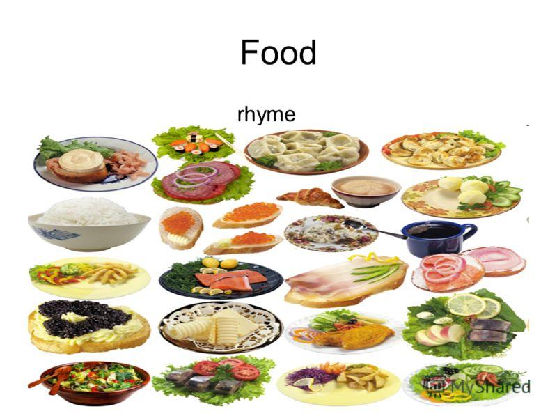Food rhyme