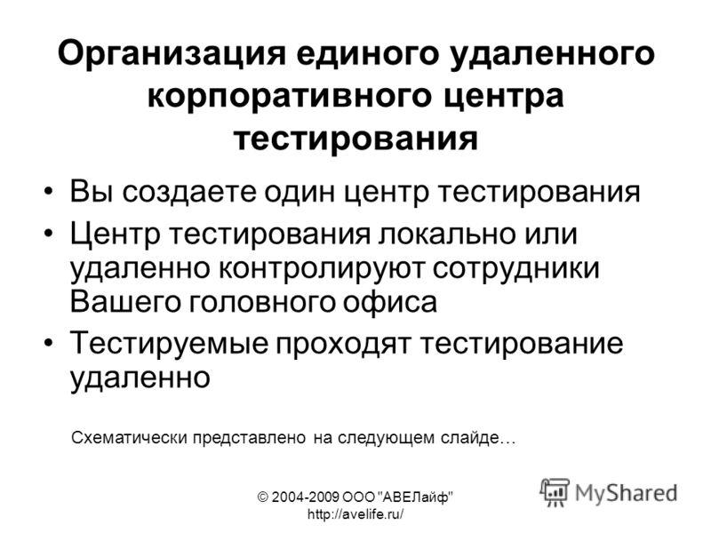 © 2004-2009 ООО
