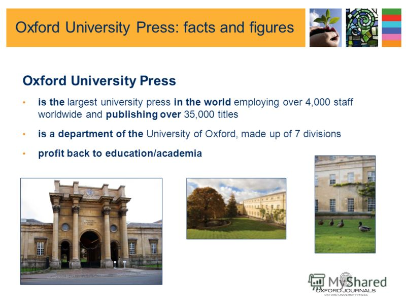 Oxford Journals An introduction to OUP and our journals