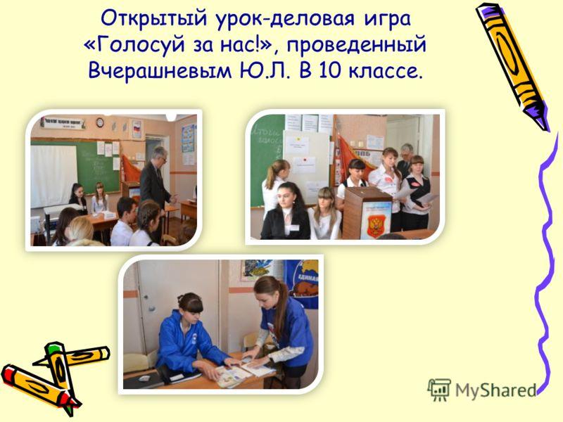 Учащиеся 11 классов под руководством Подгайко Е.Н. провели урок- круглый стол «Мы выбираем, меня выбирают!»