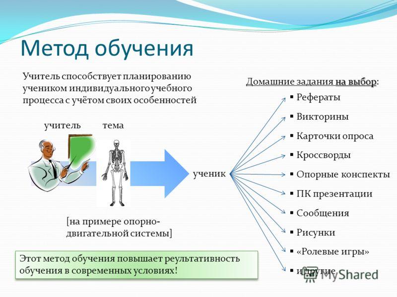 Презентация на тему Министерство общего и профессионального  7 учитель Метод обучения