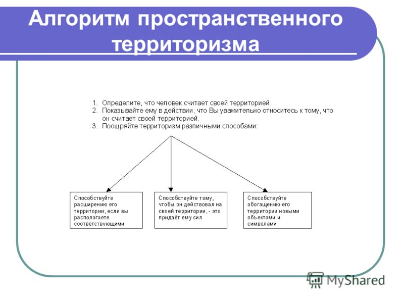 Алгоритм пространственного территоризма