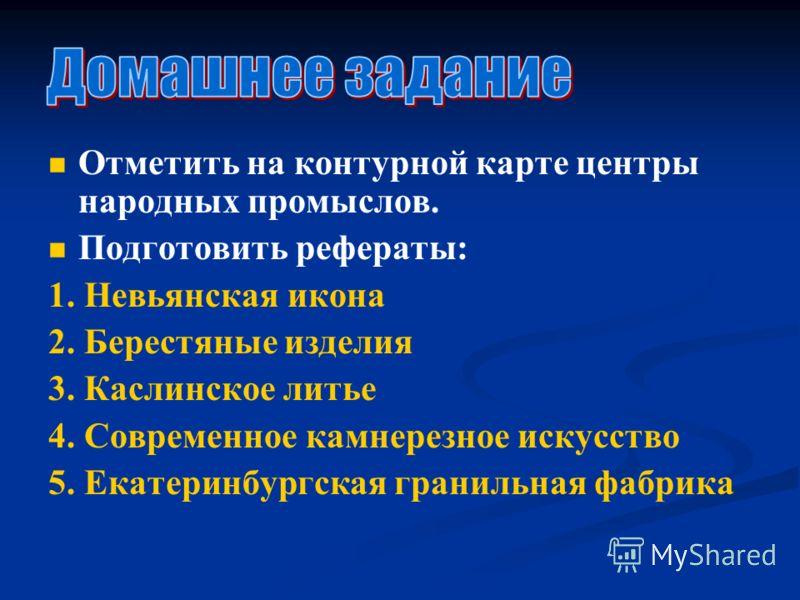Каслинское Литье Презентация