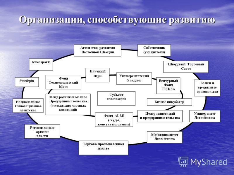Организации, способствующие развитию