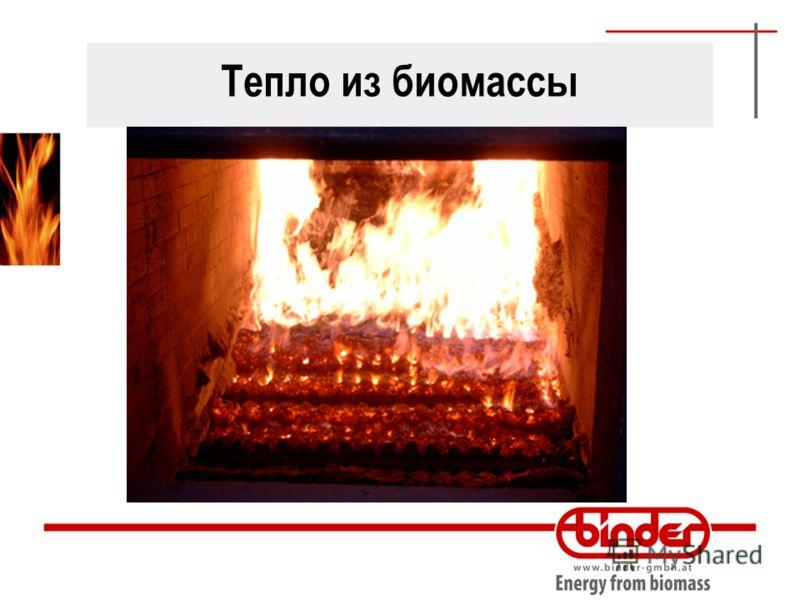 Тепло из биомассы
