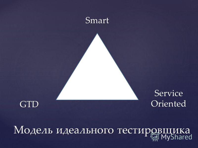 Модель идеального тестировщика Smart ServiceOriented GTD