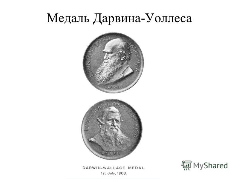 Медаль Дарвина-Уоллеса