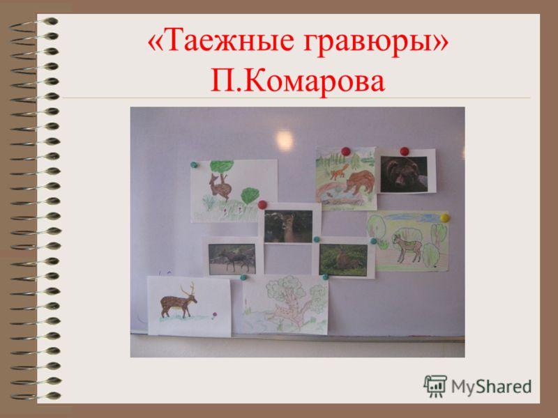 «Таежные гравюры» П.Комарова