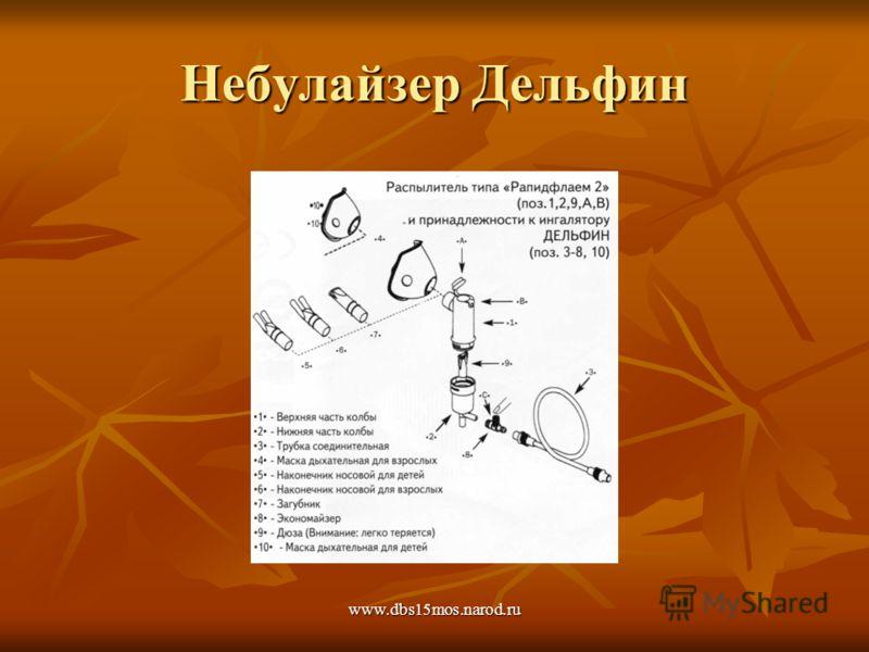 www.dbs15mos.narod.ru Небулайзер Дельфин
