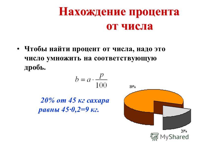Основные типы задач на проценты В простейших задачах на проценты некоторые величина а принимается за 100%, а ее часть b выражается p %. 100 % - a P % - b 100 % - a P % - b