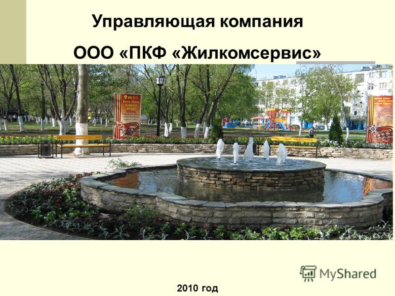 Управляющая компания ООО «ПКФ «Жилкомсервис» 2010 год