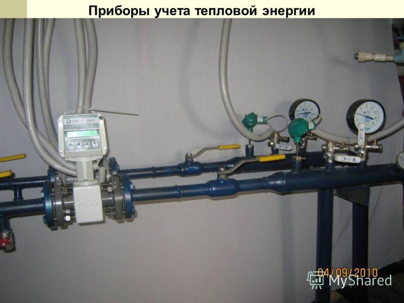 Приборы учета тепловой энергии
