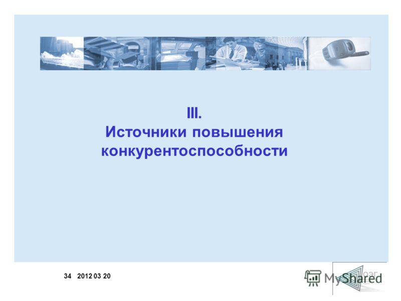 34 2012 03 20 III. Источники повышения конкурентоспособности