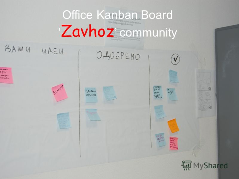 Office Kanban Board Zavhoz community