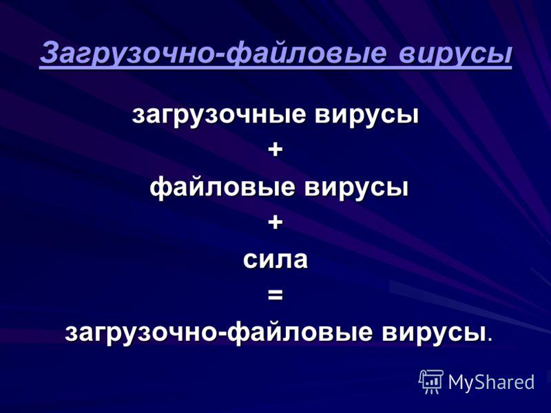 Загрузочные вирусы Загрузочные вирусы выделяют некоторую область дискеты и делают её недоступной операционной системе (помечая, например, как сбойную- bad); замещают программу начальной загрузки в загрузочном секторе дискеты, копируя корректную прогр