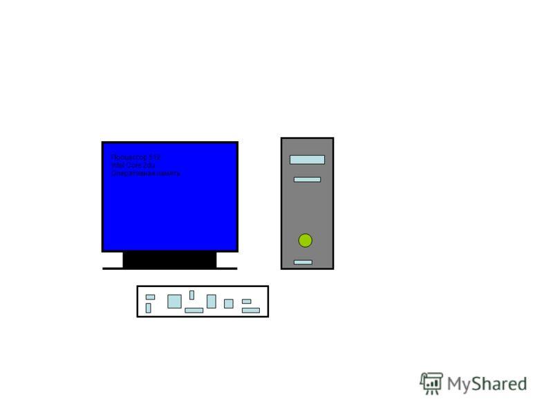 Процессор 512 Intel Core 2du Оперативная память
