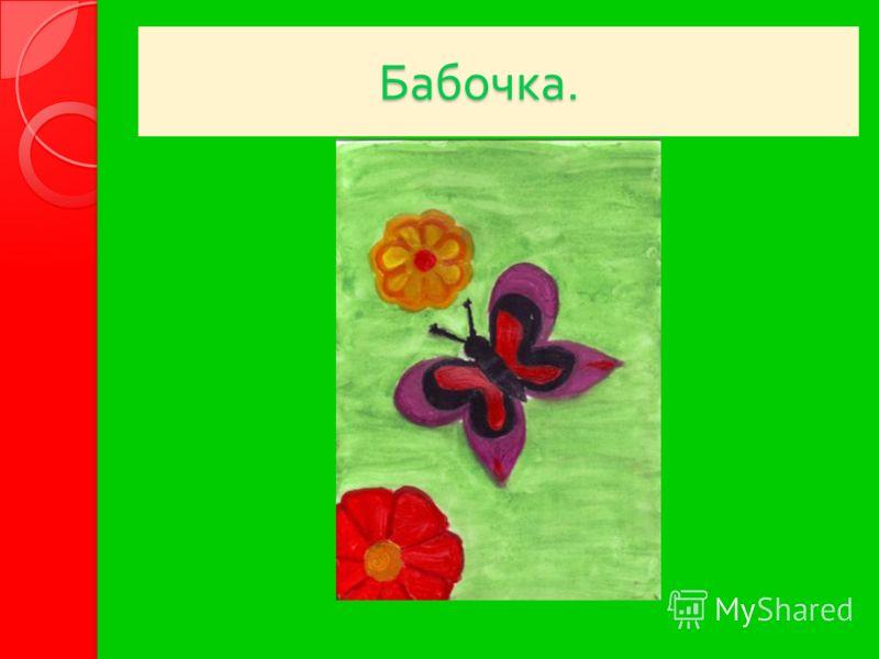 Бабочка. Бабочка.