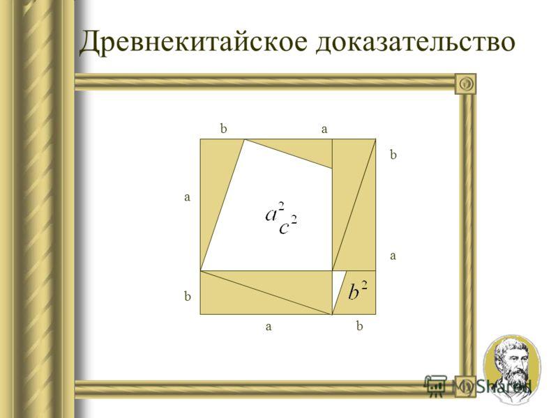 Формулировки теоремы Формулировка Евклида: В прямоугольном треугольнике квадрат стороны, натянутый над прямым углом, равен квадратам на сторонах, заключающих прямой угол. В Geometria Culmonensis теорема читается так: Итак, площадь квадрата, измеренно