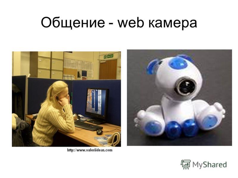 Общение - web камера