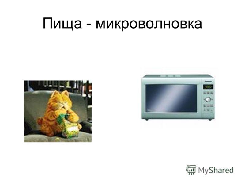 Пища - микроволновка